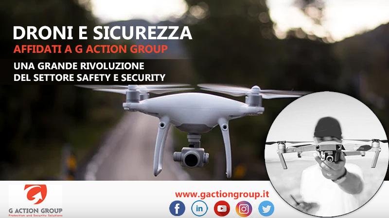 Droni per la sicurezza privata: una grande rivoluzione nel settore safety e security